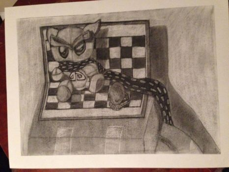 dA Dude in charcoal by Tigerzhell