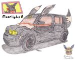 Nissan Cube Eevee Edition by Sir-Genesis