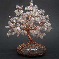 Crystal tree by Miriele