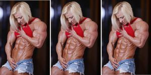 Super Blonde Abs Progression by Turbo99