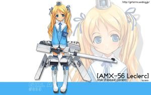 GirlArms AMX-56 Leclerc Wall W by HaMsTeYr