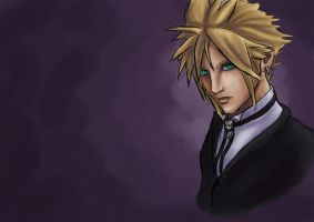 Cloud Strife Halloween Concept by Raenstrife