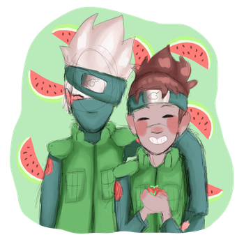 Strawberries And Watermelons by RaeLx888