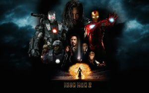 Iron Man 2 Poster Wall Mix 3 by rehsup