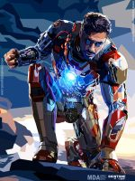 IRON MAN 3 by YUHEND