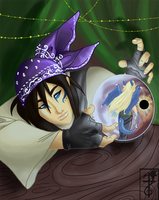 The Seer: Troy by yamilink