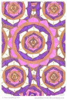Glitter In The Air Mandala by Quaddles-Roost