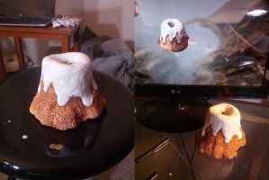 Skyrim 1:1 scale Sweetroll by lsomething