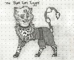 The Rum Tum Tugger is a curious cat (sketch) by herra97
