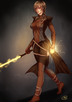 [CM] Jedi Knight, Damillia Seraph by 6night-walking9