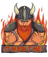 Yogscast contest - kill it with fire recolored by Indignation