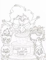 AccursEdd-Animator DA birthday by sixteen6stars