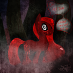 .: Scary Art: Hello Bronies :. by PhoenixSAlover