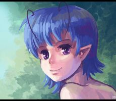 Lucilya speed painting by Karbo