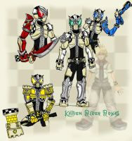 Kamen Rider Roxas COLORED by FlamedramonX20