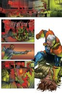 Color portfolio: Deathstroke page 16 by shiprock