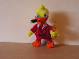 Howard the Duck by fuzzyfigureguy