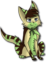 New Character: Franklin by Evilpaw