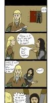 Legolas And Aragorn comic strip by Drag0n24