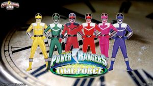 Power Rangers Time Force WP by jm511