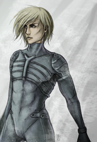 MGS2 Raiden by Blackdusk