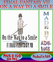 Final Fantasy On The Way To A Smile - Anime icon by azmi-bugs