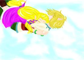Skyward Sword: Free Fall by KingdomHeartsgal