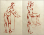 Life Drawing by XThrill
