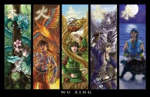 Wu Xing by chibipirate