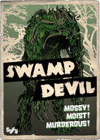 Syfy MM Swamp Devil by Randoman92