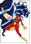 Spider-woman by ChibiCelina