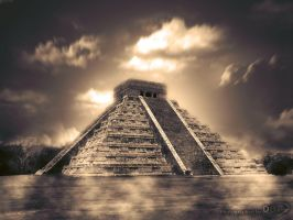 Chichen Itza Surreal by barcecruz