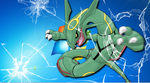Rayquaza Escapes Your Computer! by anime-manga-freak1
