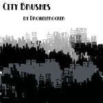 City Brushes by DrowElfRocker