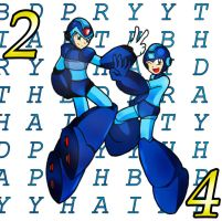 Happy 24th birthday Mega Man by Shoutaro-Saito
