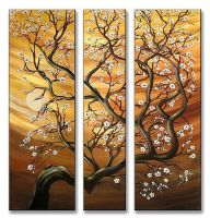 Crooked Tree Blossoms by ModernArtist123