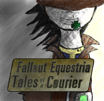 Tales of a courier cover effec by aFriendlyHobo