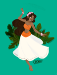 Moana by RaineEvans