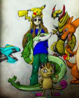 My Pokemon Black 2 Team by TheDragonInTheCenter