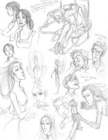 My First Portal sketches by Bonka-chan