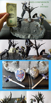 Link Battle Sculpture, Size comp. and Details by sidemoon