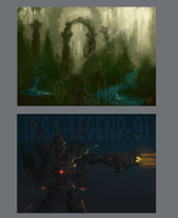 45 minute Speedpaints by JoshuaNel