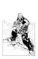 Cable inks over Ramos by antalas
