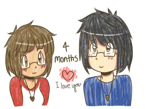 4 Months by TiaraButterfly