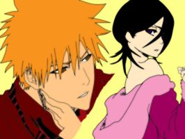 IchiRuki Colored 2 by ButterflyFromHell15