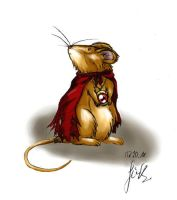 tiny mouse by Knorke-chan