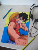 luffy by Tenemur