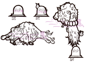 Critters: Barghest by VioletWhirlwind