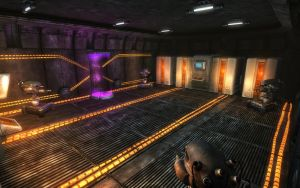 Rock Farm Security Bunker - InterSector Teleporter by MLP-NovelIdea