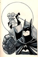 Moleskine: Bats and Big Red by chief-orc